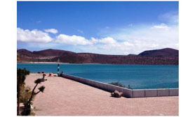 Cortés Port naval base comondu